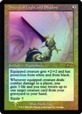 Magic the Gathering Promo Single Sword of Light and Shadow FOIL (Judge)