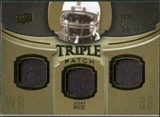 2010 Upper Deck Exquisite Collection Single Player Triple Patch #ETPJR Jerry Rice /75