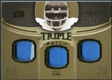 2010 Upper Deck Exquisite Collection Single Player Triple Patch #ETPSI Billy Sims /75