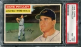 1956 Topps Baseball #222 Dave Philley PSA 8 (NM-MT) *6233