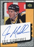 2000/01 Upper Deck Legends Epic Signatures #JM Joe Mullen Autograph