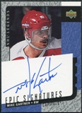 2000/01 Upper Deck Legends Epic Signatures #MG Mike Gartner Autograph