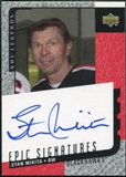 2000/01 Upper Deck Legends Epic Signatures #SM Stan Mikita Autograph