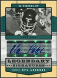 2004 Upper Deck Legends Legendary Signatures #LSAP Alan Page Autograph