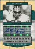 2004 Upper Deck Legends Legendary Signatures #LSBI Billy Sims Autograph
