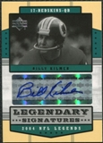 2004 Upper Deck Legends Legendary Signatures #LSBK Billy Kilmer Autograph