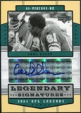 2004 Upper Deck Legends Legendary Signatures #LSCE Carl Eller Autograph