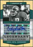 2004 Upper Deck Legends Legendary Signatures #LSCM Craig Morton Autograph