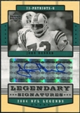 2004 Upper Deck Legends Legendary Signatures #LSHN John Hannah Autograph