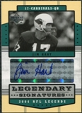 2004 Upper Deck Legends Legendary Signatures #LSHT Jim Hart Autograph
