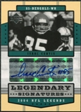 2004 Upper Deck Legends Legendary Signatures #LSIC Isaac Curtis Autograph