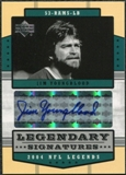 2004 Upper Deck Legends Legendary Signatures #LSJY Jim Youngblood Autograph