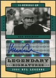 2004 Upper Deck Legends Legendary Signatures #LSKA Ken Anderson Autograph