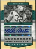 2004 Upper Deck Legends Legendary Signatures #LSMI Mike Curtis Autograph