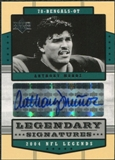 2004 Upper Deck Legends Legendary Signatures #LSMU Anthony Munoz Autograph
