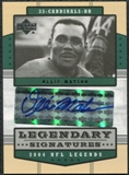 2004 Upper Deck Legends Legendary Signatures #LSOM Ollie Matson Autograph