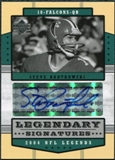 2004 Upper Deck Legends Legendary Signatures #LSSB Steve Bartkowski Autograph
