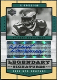2004 Upper Deck Legends Legendary Signatures #LSWM Wilbert Montgomery Autograph