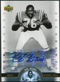 2005 Upper Deck Legends Legendary Signatures #BB Bob Brown Autograph