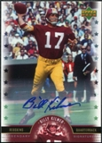 2005 Upper Deck Legends Legendary Signatures #BI Billy Kilmer Autograph
