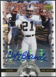 2005 Upper Deck Legends Legendary Signatures #CB Cliff Branch Autograph