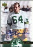 2005 Upper Deck Legends Legendary Signatures #JK Jerry Kramer Autograph