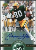 2005 Upper Deck Legends Legendary Signatures #JL James Lofton Autograph