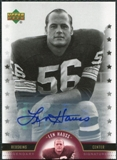 2005 Upper Deck Legends Legendary Signatures #LH Len Hauss Autograph