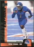 2011 Upper Deck #61 Titus Young SP RC