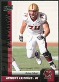 2011 Upper Deck #99 Anthony Castonzo SP RC