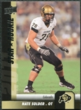 2011 Upper Deck #124 Nate Solder SP RC