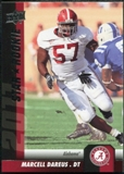 2011 Upper Deck #178 Marcell Dareus SP RC
