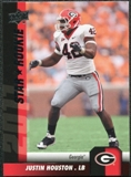 2011 Upper Deck #186 Justin Houston SP RC