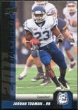 2011 Upper Deck #187 Jordan Todman SP RC