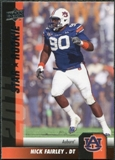2011 Upper Deck #191 Nick Fairley SP RC