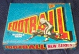 1972 Topps Football 3rd Series Wax Box