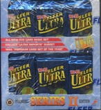 1992/93 Fleer Ultra Series 2 Hockey Retail Box