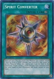 Yu-Gi-Oh Return of the Duelist Single Spirit Convertor Secret Rare