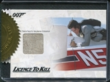 2012 James Bond 50th Anniversary Series 2 #JBR28 Franz Sanchez's Airplane Interior Relic /333