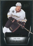 2011/12 Upper Deck SPx #149 Maxime Macenauer RC /499