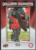 2012 Upper Deck College Mascot Manufactured Patch #CM1 Big Al A