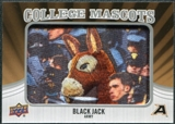 2012 Upper Deck College Mascot Manufactured Patch #CM5 Black Jack C