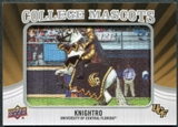 2012 Upper Deck College Mascot Manufactured Patch #CM13 Knightro B