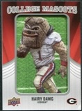 2012 Upper Deck College Mascot Manufactured Patch #CM19 Hairy Dawg A