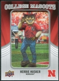 2012 Upper Deck College Mascot Manufactured Patch #CM31 Herbie Husker A