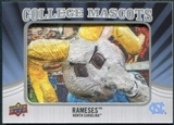 2012 Upper Deck College Mascot Manufactured Patch #CM33 Rameses B