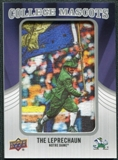 2012 Upper Deck College Mascot Manufactured Patch #CM34 The Leprechaun A