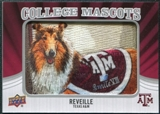 2012 Upper Deck College Mascot Manufactured Patch #CM47 Reveille A