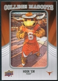 2012 Upper Deck College Mascot Manufactured Patch #CM49 Hook Em A