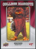 2012 Upper Deck College Mascot Manufactured Patch #CM55 HokieBird A